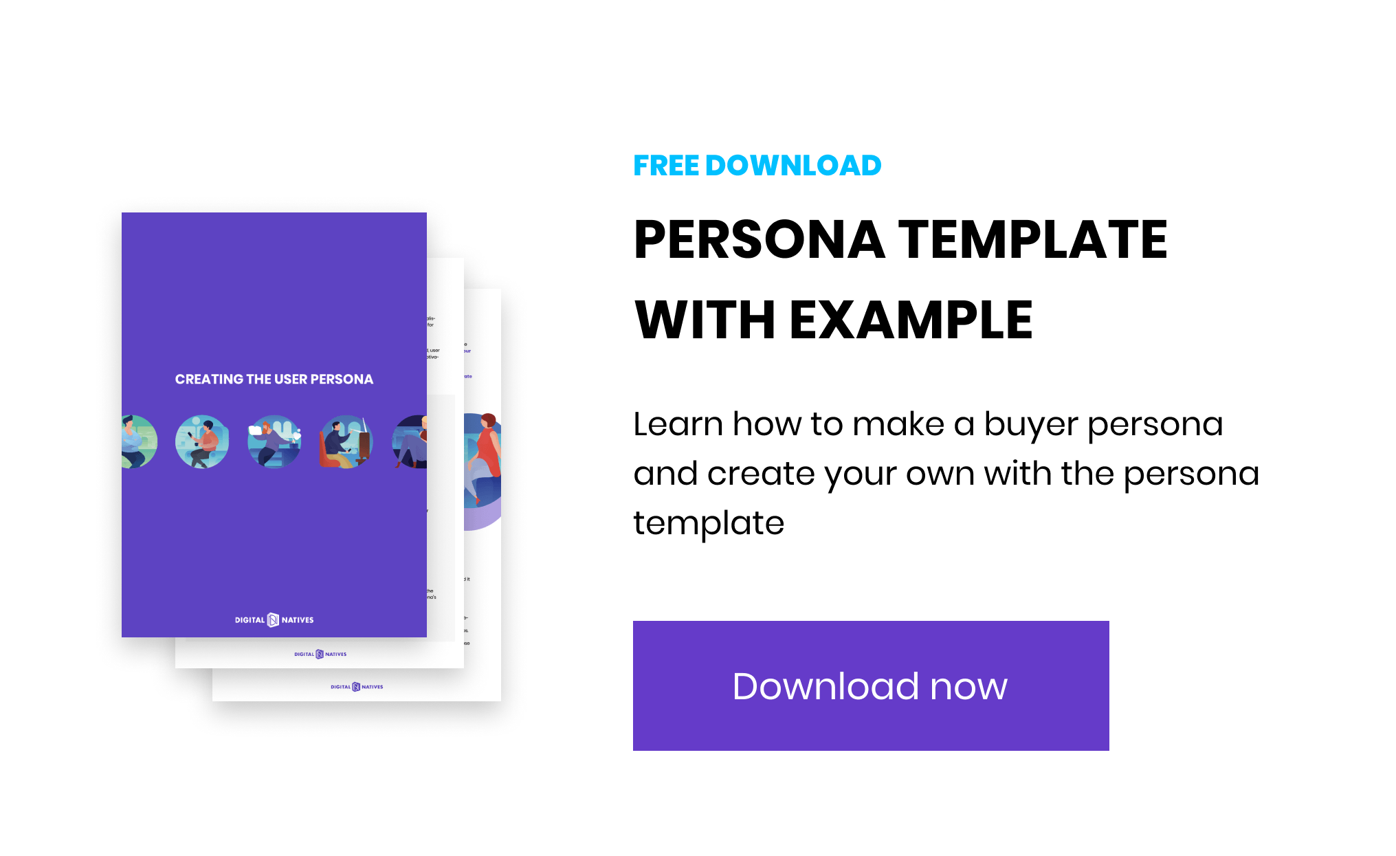 marketing research for startups persona template