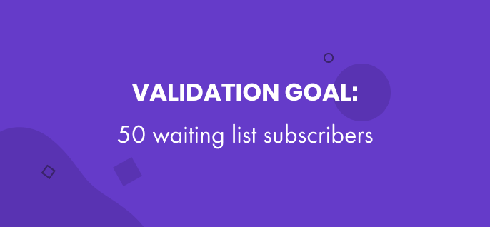 Freebees validation goal